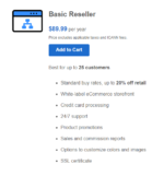 Domain Registration and Web hosting Reseller